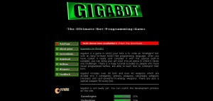 Gigabot original Website, 2003