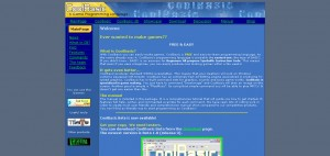 The very first website, 2004