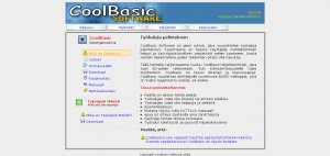 The unpublished CoolBasic Website, 2007